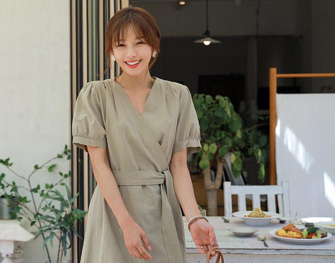 chichera-세련된 그녀들의 선택, 시크헤라[메리퍼프리넨원피스]♡韓國女裝連身裙
