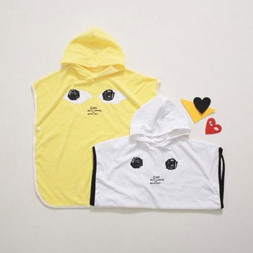 cooingkids-눈동자후드비치타올♡韓國童裝季節服飾