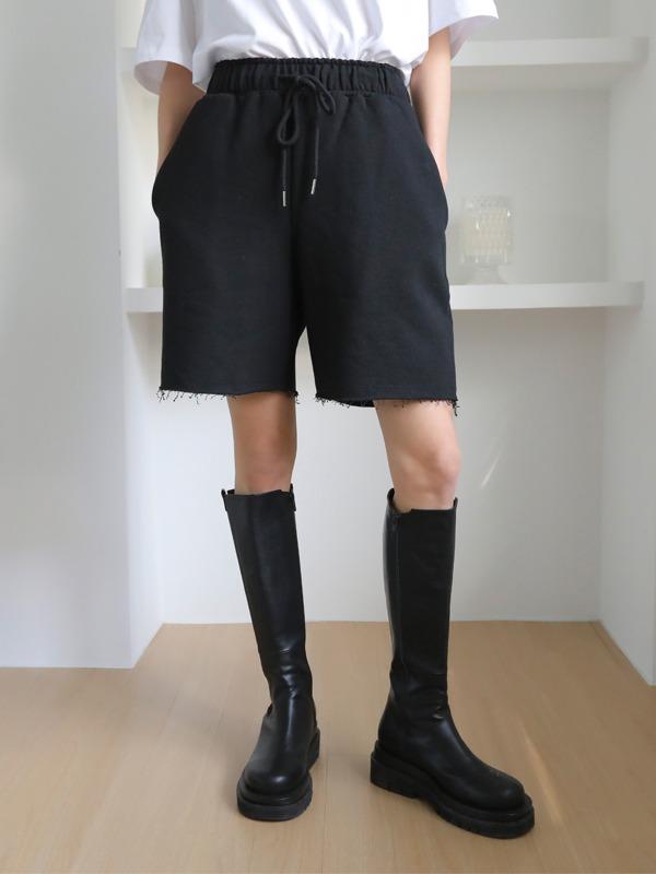 11am-스프링 코튼 숏츠♡韓國女裝褲