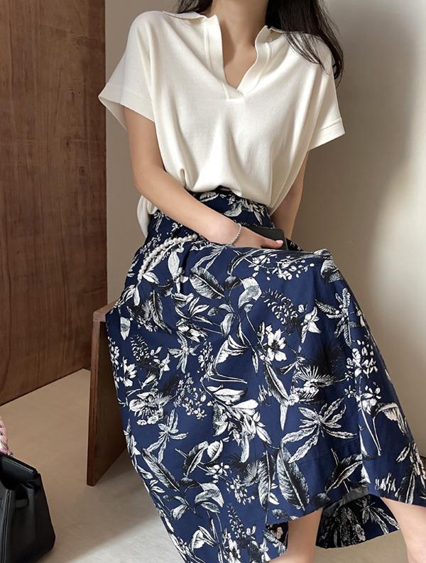 ssumj-어반 카라 니트(4col)♡韓國女裝上衣