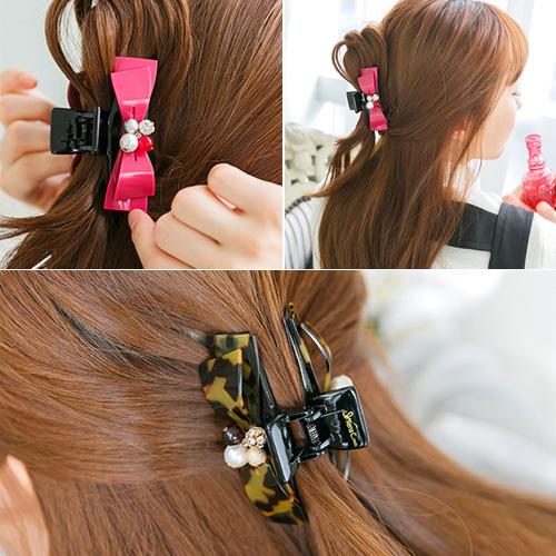 soo-soo-[헤어밴드,레나크리스디아망볼륨집게핀  (17H971) [10color]]♡韓國女裝飾品