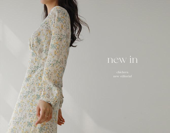 chichera-세련된 그녀들의 선택, 시크헤라[스윗플로럴롱원피스]♡韓國女裝連身裙