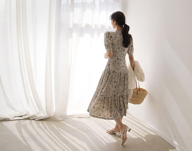 chichera-세련된 그녀들의 선택, 시크헤라[이자벨플라워원피스]♡韓國女裝連身裙
