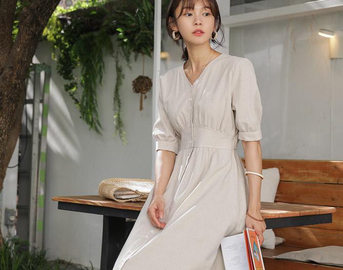 chichera-세련된 그녀들의 선택, 시크헤라[오트리넨롱원피스]♡韓國女裝連身裙