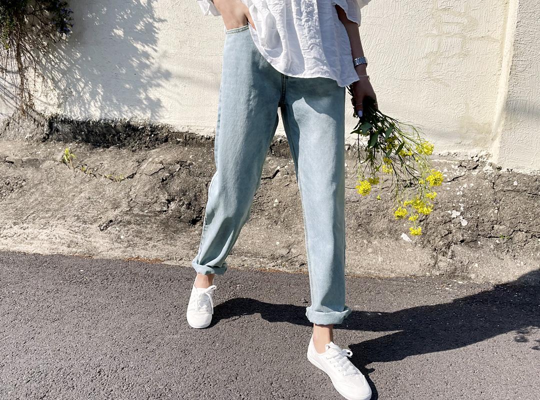 naning9-올미오 데님팬츠(C03)♡韓國女裝褲