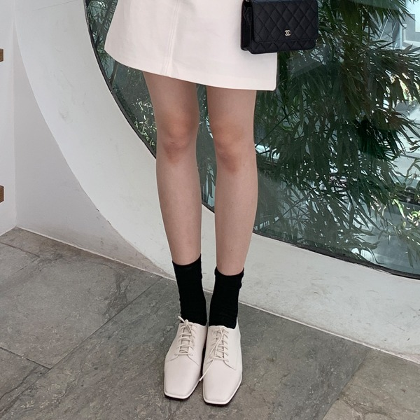 benito-덴스 스퀘어 옥스퍼드 로퍼 2cm 신상/베스트/여성/데일리♡韓國女裝鞋
