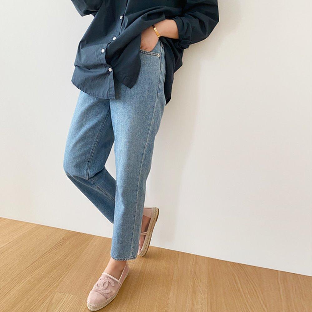 littleblack-브런치 워싱 데님(S, M, L)♡韓國女裝褲