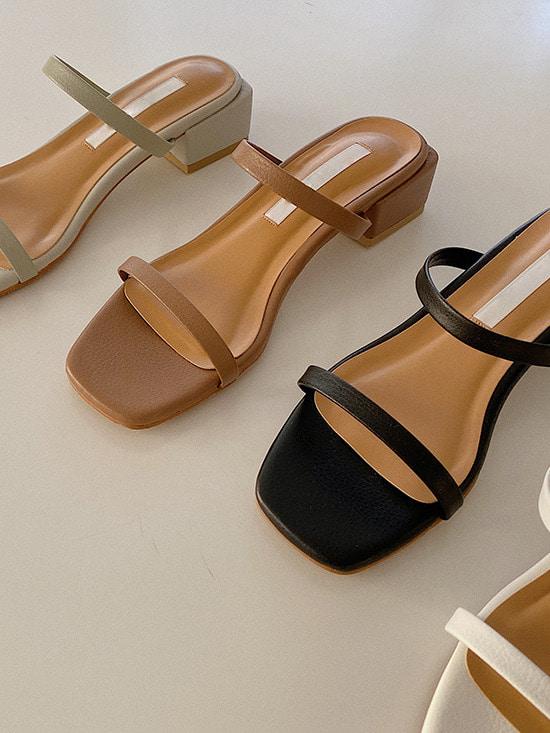 merryaround-[소가죽] 투투 스트랩 (shoes)(3.5cm)♡韓國女裝鞋