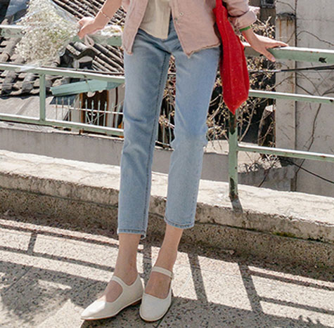 leelin-[베일리 메리제인 슈즈]♡韓國女裝鞋
