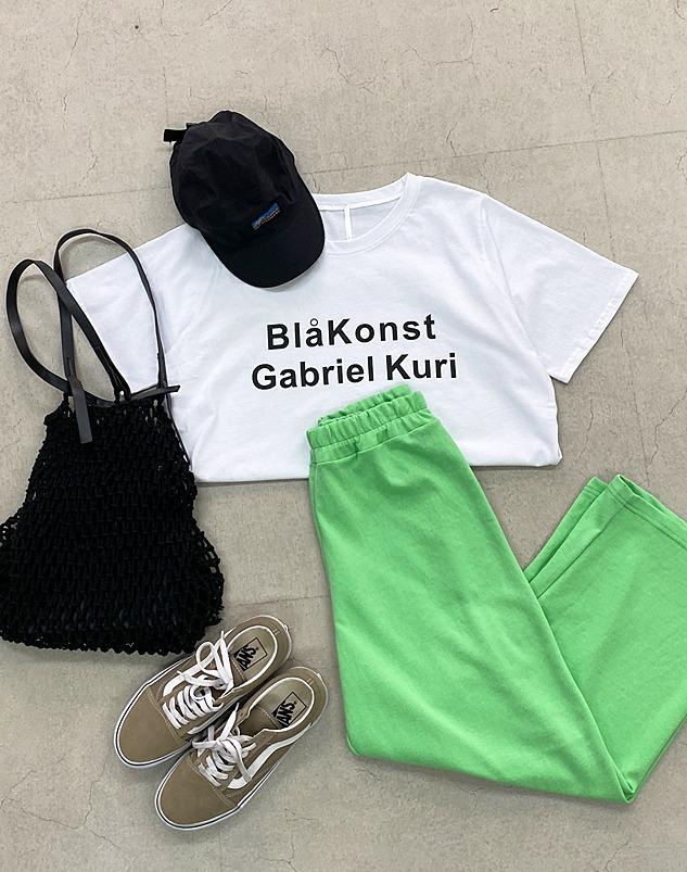 loloten-이로 와이드 밴딩 팬츠♡韓國女裝褲