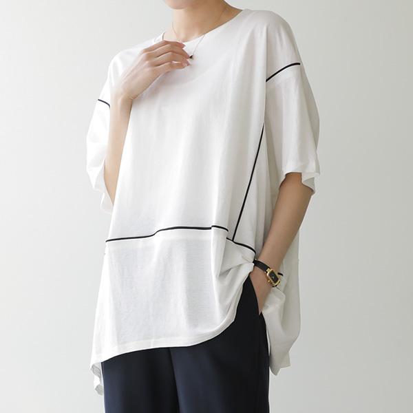 mariangplus-[P] 잔스릴 반팔 티셔츠 P_T9827♡韓國女裝上衣