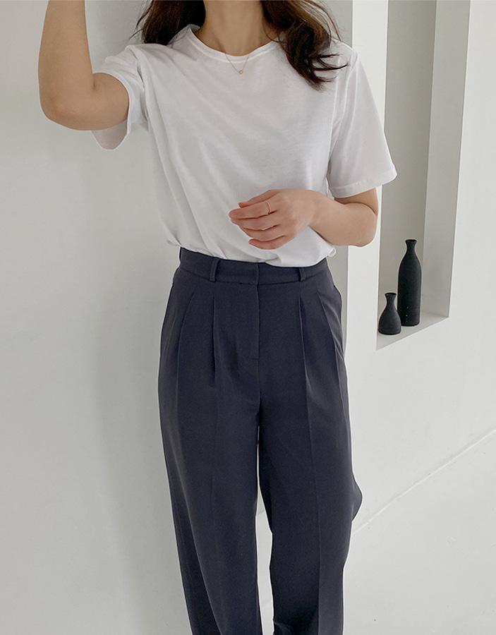 niponjjuya-베이글 반팔티♡韓國女裝上衣