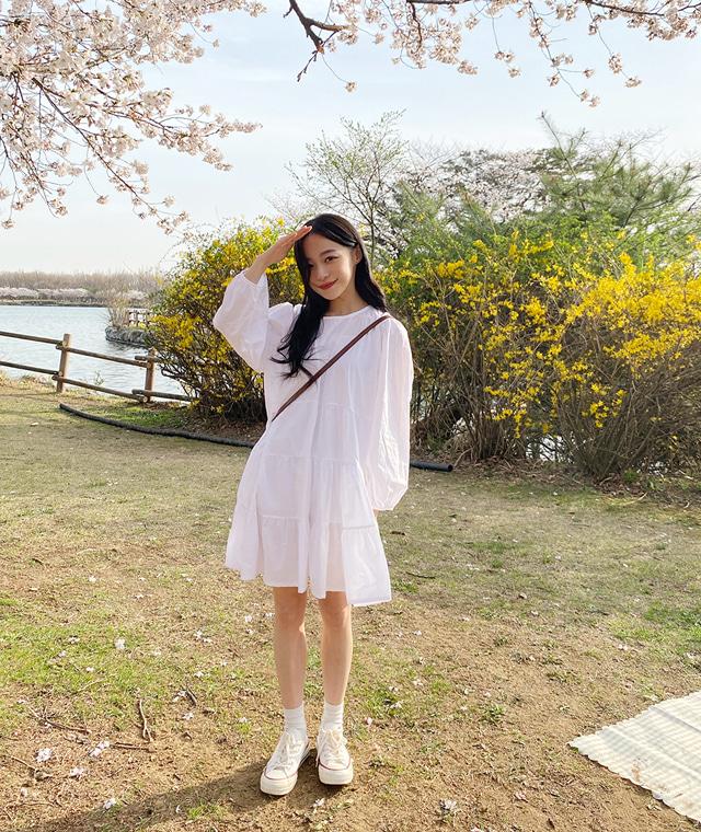kikiko-마틸다셔링원피스♡韓國女裝連身裙