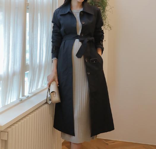 soim-[임부복*고급스러움에반한 트렌치코트]♡韓國孕婦裝外套