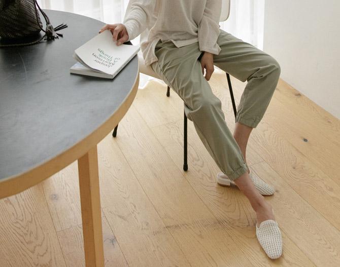 chichera-세련된 그녀들의 선택, 시크헤라[코튼밴딩조거팬츠]♡韓國女裝褲
