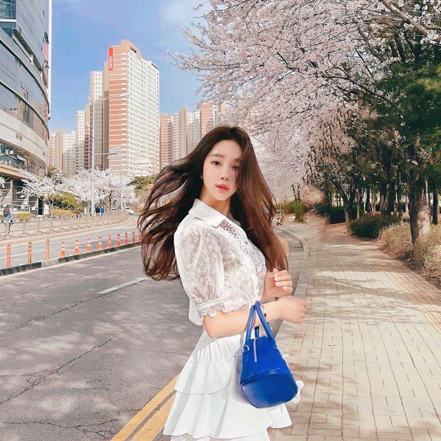 mybany-문레이스BL♡韓國女裝上衣