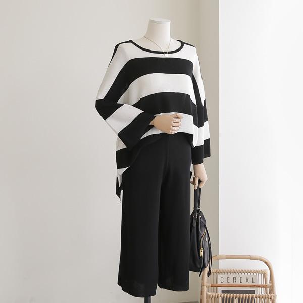 mariangplus-[P] 블롬 단가라 니트 세트 P_K2380♡韓國女裝套裝