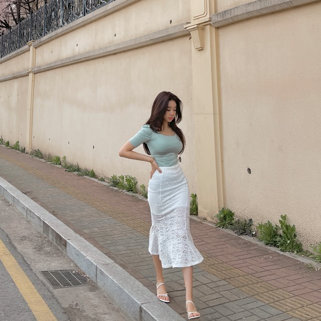 mybany-글램머메이드SK♡韓國女裝裙