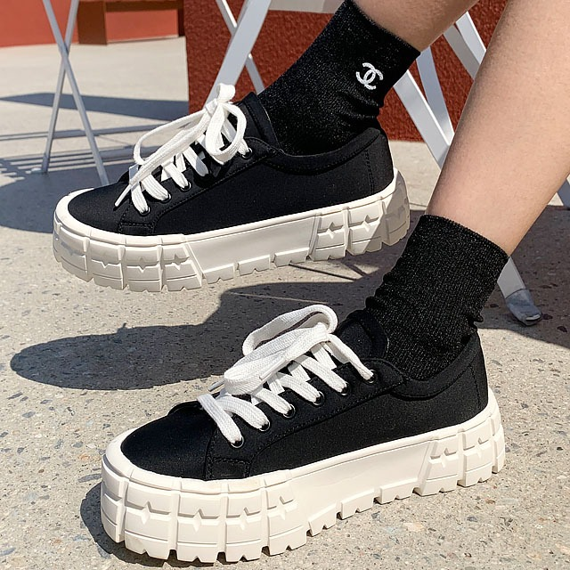 sweetglam-TB-CO9254 플데 스니커즈♡韓國女裝鞋