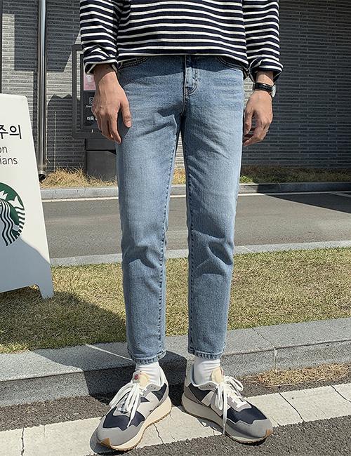 from-us-309 소프트 데님팬츠♡韓國男裝褲子
