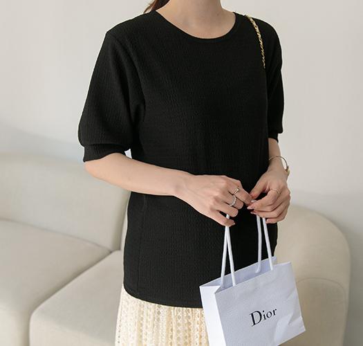 soim-[임부복*엠보블라우스 임산부티]♡韓國孕婦裝上衣
