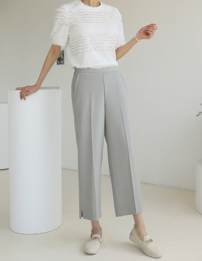 indibrand-포그니 슬랙스 (ver. SUMMER)♡韓國女裝褲