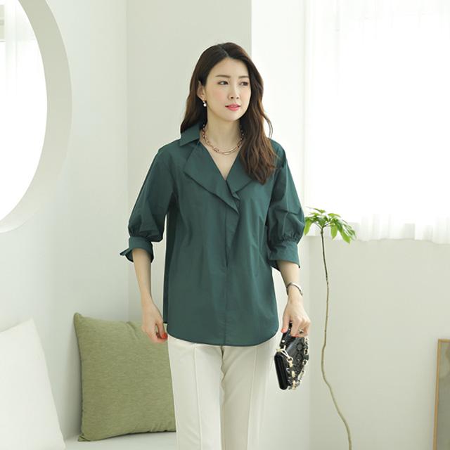 tiramisu-576데미지프릴블라우스♡韓國女裝上衣
