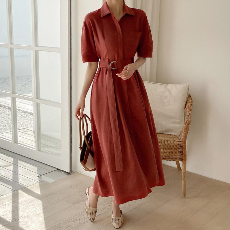 attrangs-op11438 바네사 플레어 원피스♡韓國女裝連身裙