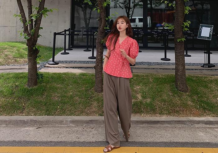 prostj-[lucky days][made prostj] 러버 랩 블라우스 (2colors)♡韓國女裝上衣