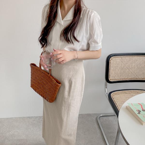 realcoco-♥NEW10%할인♥롤린 카라 여리 블라우스(데이트룩/하객룩)♡韓國女裝上衣