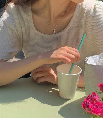 withyoon-메리엘 스퀘어넥 knit♡韓國女裝上衣