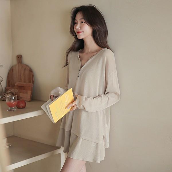 ode-[이지 원마일 썸머 니트 세트]♡韓國女裝套裝