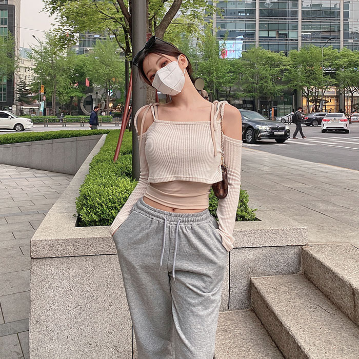 hypnotic-[폰트나시레이어드 세트]♡韓國女裝上衣套裝