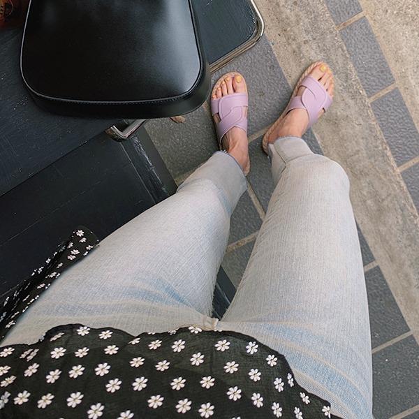 906studio-부트 스키니데님팬츠♡韓國女裝褲