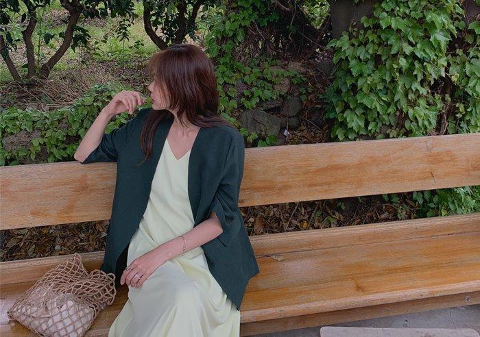 prostj-비제 노카라 자켓 (3colors)♡韓國女裝外套