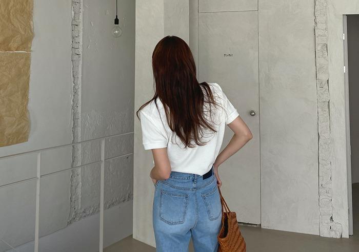 prostj-베키오 유넥 T (3colors)♡韓國女裝上衣