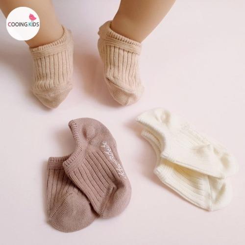 cooingkids-베이비옷 - B썸머골지덧신(3종세트)♡韓國幼兒裝