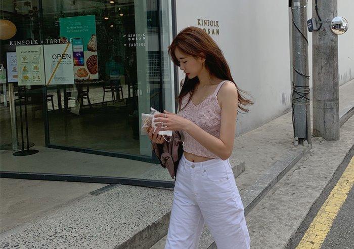prostj-젤리 니트 뷔스티에 (2colors)♡韓國女裝上衣
