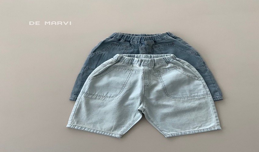 lovely2min-마르비 호이데님팬츠(XS~JXL) - lovely2min♡韓國童裝褲