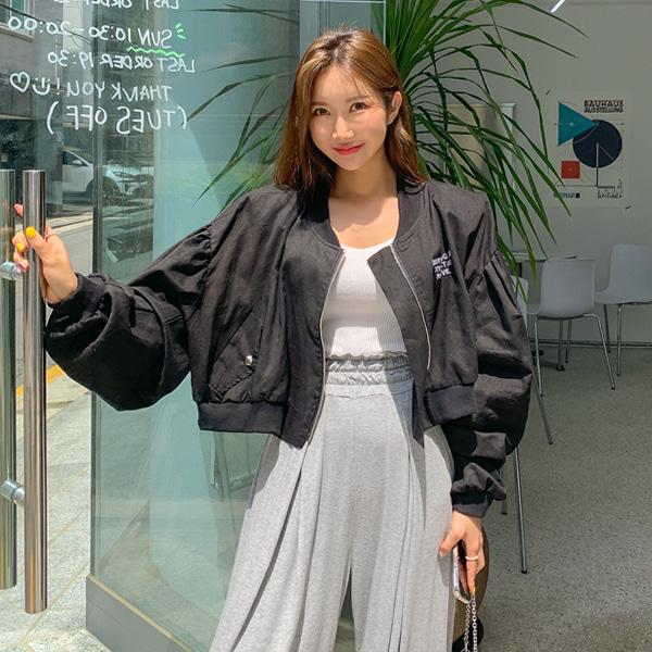 planj-에브리 린넨 점퍼♡韓國女裝外套