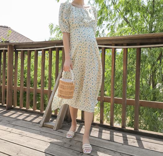 soim-[임부복*베로니플로럴 임산부원피스]♡韓國孕婦裝連身裙