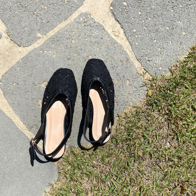 candyglow-[레이스 슈즈]♡韓國女裝鞋