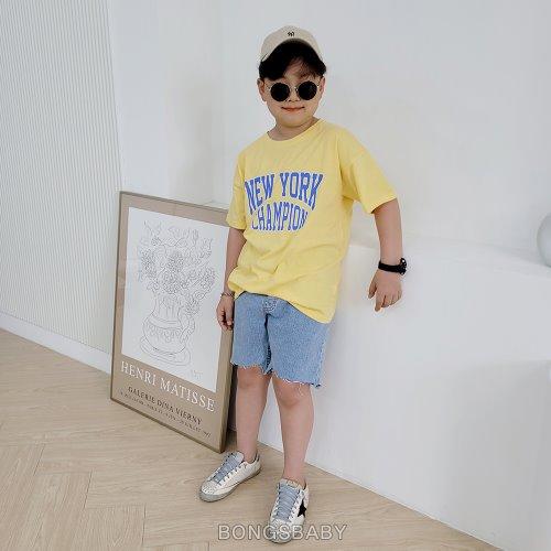 bongsbaby-뉴챔 반팔티♡韓國童裝上衣