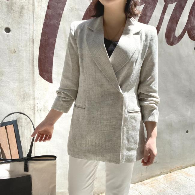 candyglow-[데즈 롤업 자켓]♡韓國女裝外套