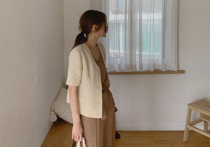 prostj-펠릭스 하프 자켓 (3colors)♡韓國女裝外套