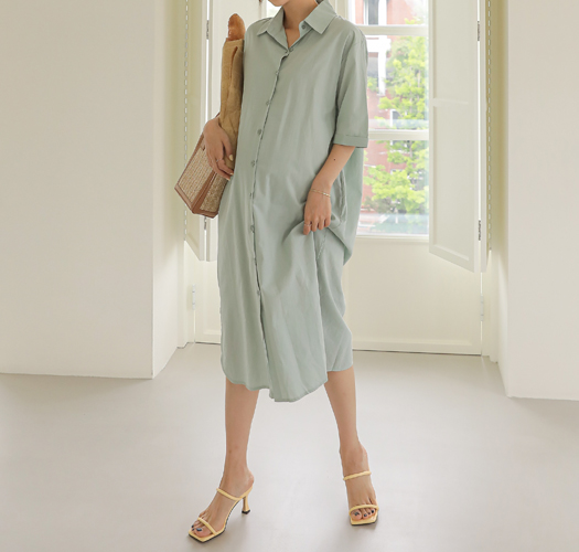 soim-[임부복*어나더셔츠 임산부원피스(수유가능)]♡韓國孕婦裝連身裙