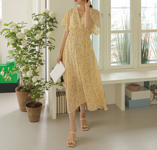 soim-[임부복*블루밍스모크 임산부원피스(수유가능)]♡韓國孕婦裝連身裙