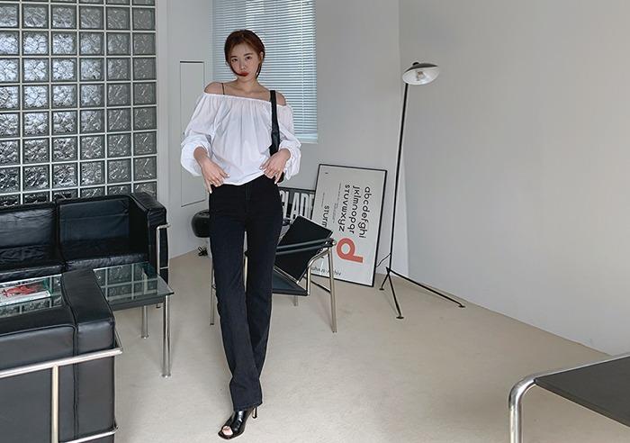 prostj-레핀 슬림 코튼 팬츠 (2colors)♡韓國女裝褲