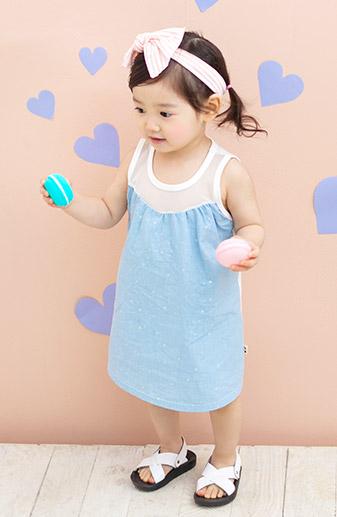 kkakkungnoriter-[by.까꿍] 은별원피스♡韓國童裝套裝