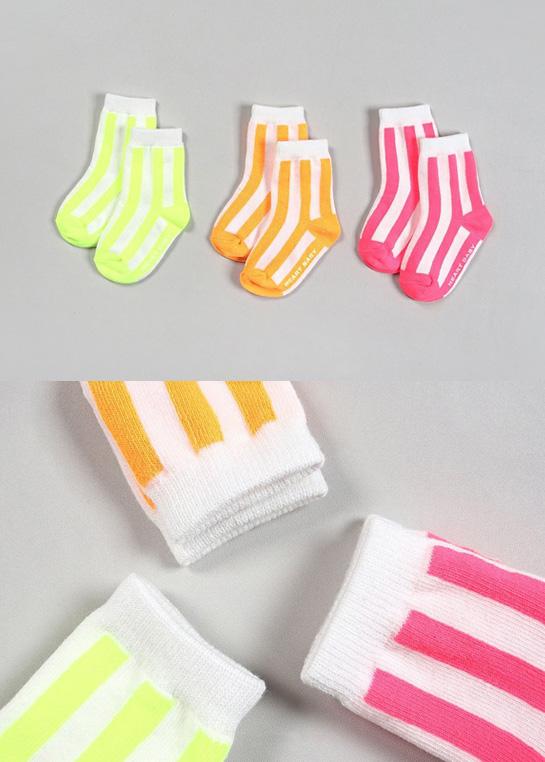 styleggom-네온팝 삭스 (3종세트)♡童裝飾品